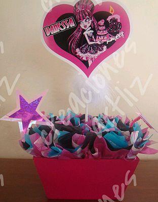Centro De Mesa Monster High
