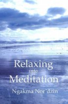 relaxing into meditation front cover detail