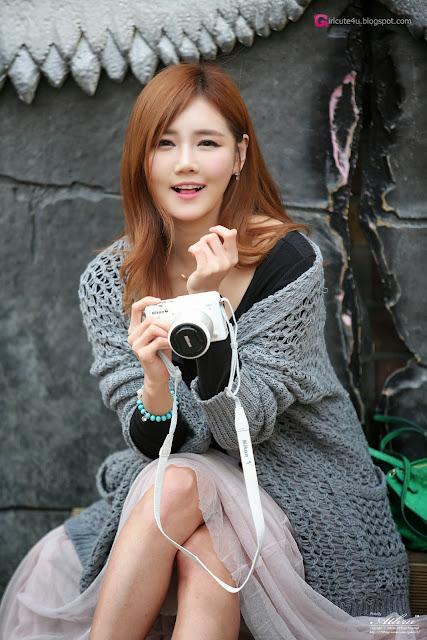2 Han Ga Eun Outdoors - very cute asian girl-girlcute4u.blogspot.com
