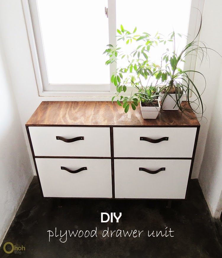 Building Plywood Drawers ~ Diy drawer unit ohoh