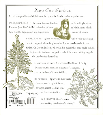 Gardener's Latin - Back Cover