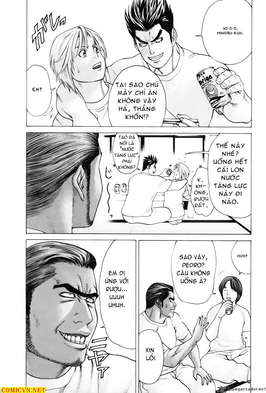 Karate Shoukoushi Kohinata Minoru chap 53 Trang 14