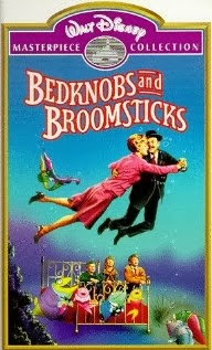 Bedknobs and Broomsticks Sticker Fun Vintage 1971 Whitman Book UNUSED