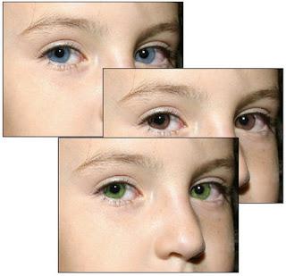 تغيير لون العيون باستخدام الفوتوشوب