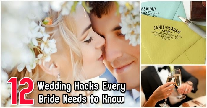 12 Wedding Hacks Every Bride Needs to Know