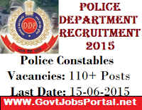 Police Recruitment 2015