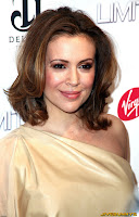 Alyssa Milano  Limitless premiere in New York City