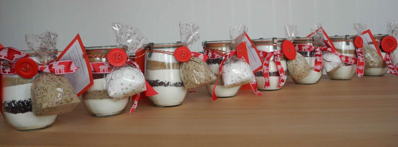 Kleine kuchen geschenke