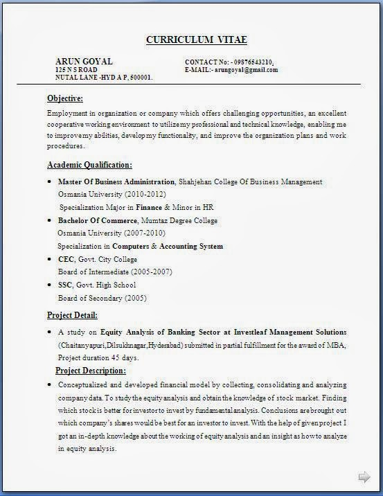28 career objective for mba finance resume awesome