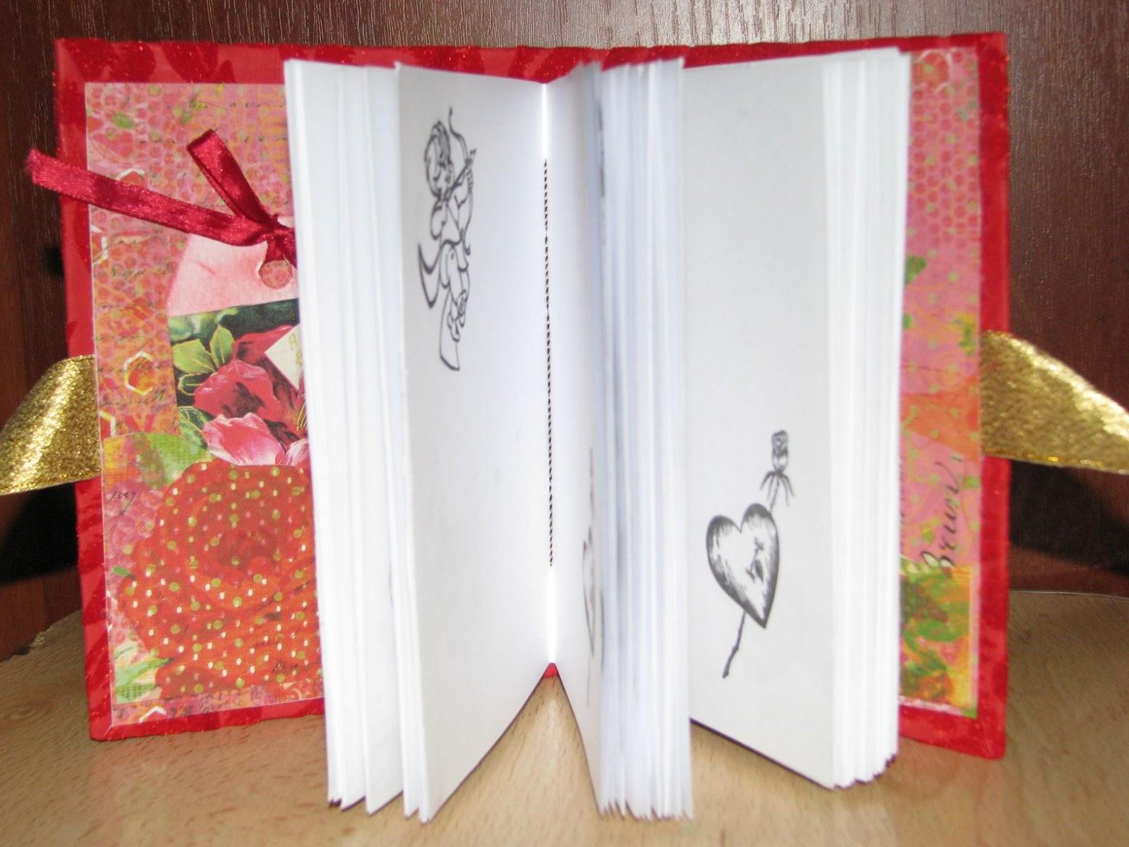 Как сделать блокнот своими руками из белый бумаги