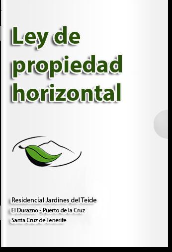 Jardines del teide estatutos y normas para animales en c p jardines del teide - Ley propiedad horizontal patio interior ...