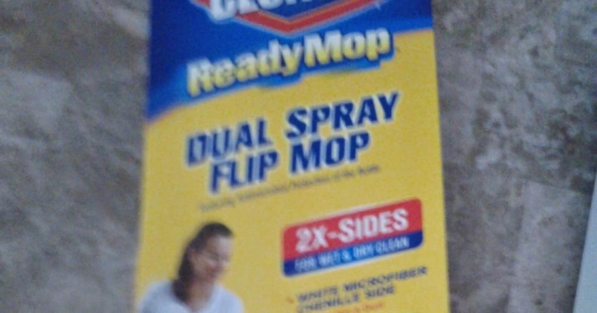 clorox ready mop instructions