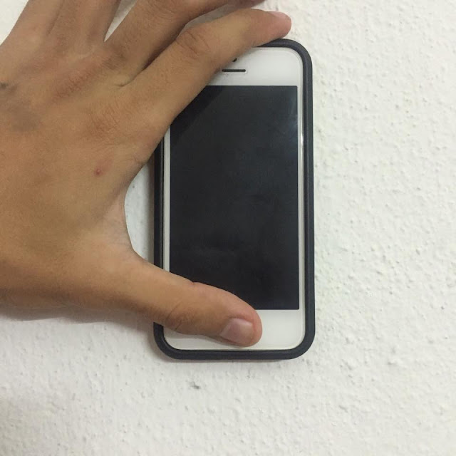 Holding HOME and POWER Button together for 15 seconds