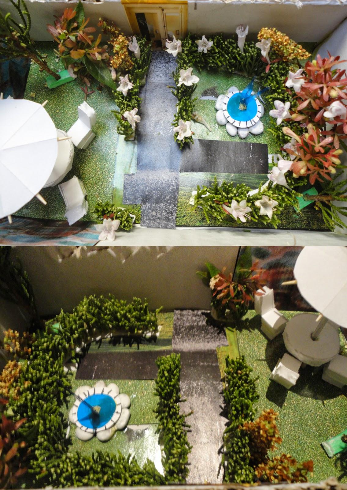Keyzy design maqueta de un jard n for Maquetas de jardines