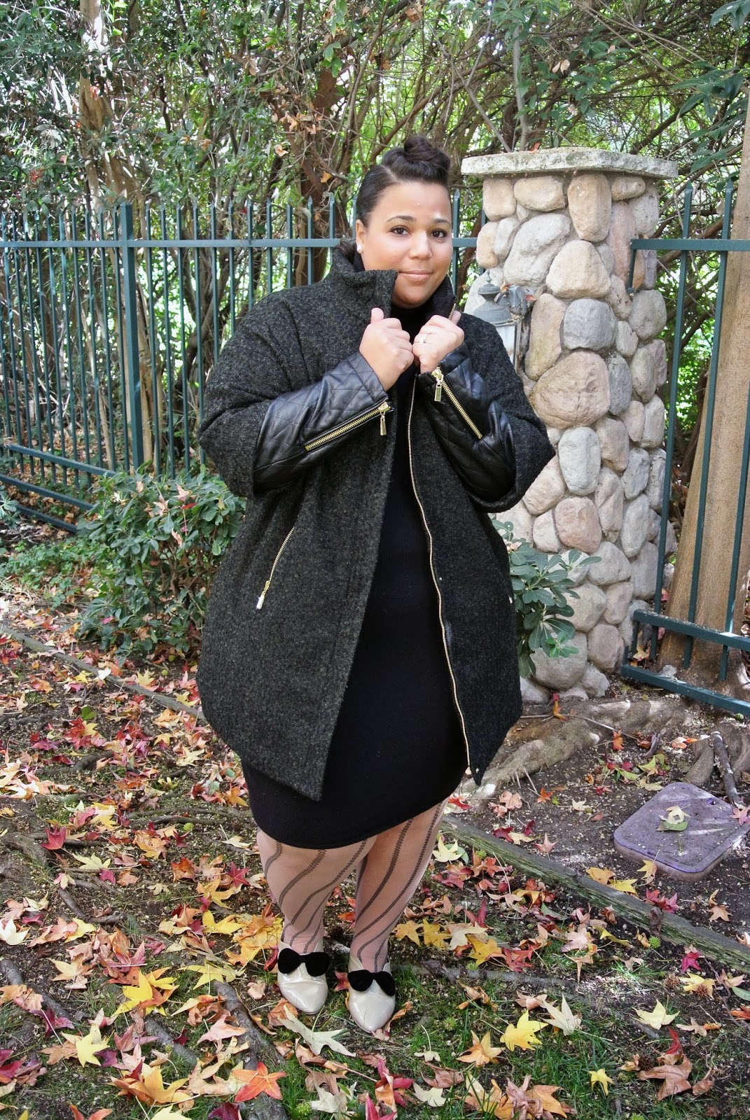 Plus Size blog, plus size coats, Vince Camuto