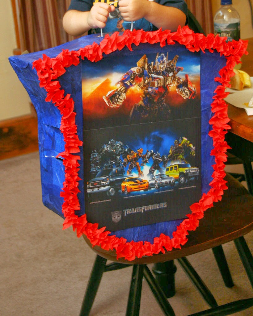 Piñatas de Transformers, parte 2