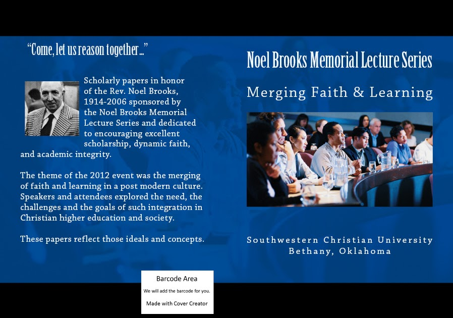 integrating faith and learning Integration of faith & learning - resources offered by the center for faculty development at union university.