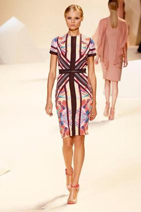 مجموعة إيلي صعب الجديدة للثياب الجاهزة لربيع صيف 2013 - فساتين ايلي صعب 2013 - ازياء ايلي صعب 2013