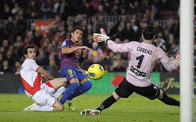 Barcelona 4 - 0 Rayo Vallecano (2)