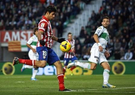 Atletico Madrid vs Elche