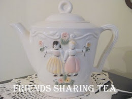 Friends Sharing TeaTime