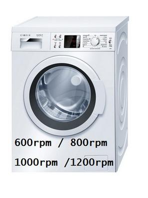 Velocit di centrifuga in quanti giri acquistare la for Quale lavatrice comprare