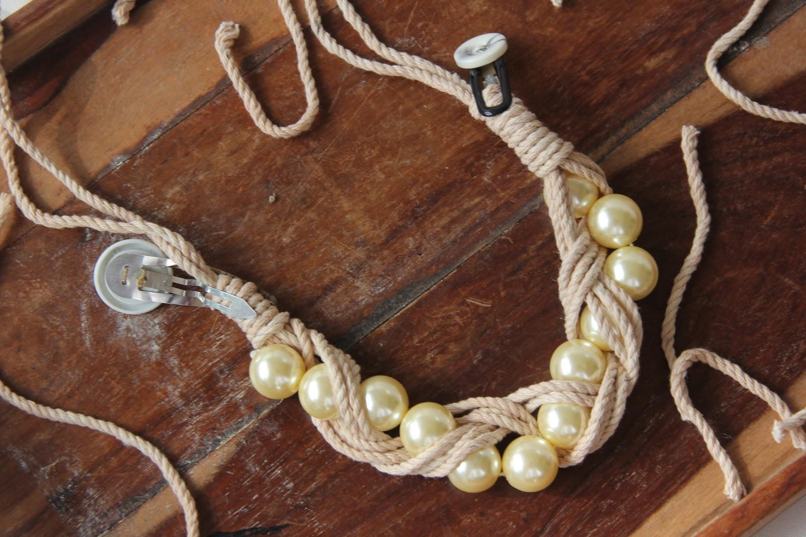 Как сделать украшения своими руками из веревки