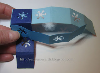 snowflake cutout ornament