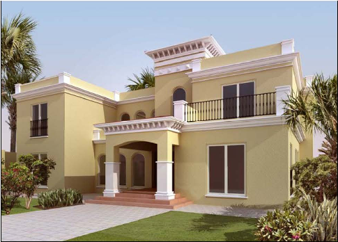 New home designs latest exterior homes designs sharjah uae for Modern house uae