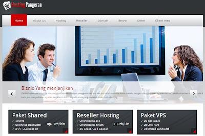 HostingPangeran Web Hosting Murah Berkualitas