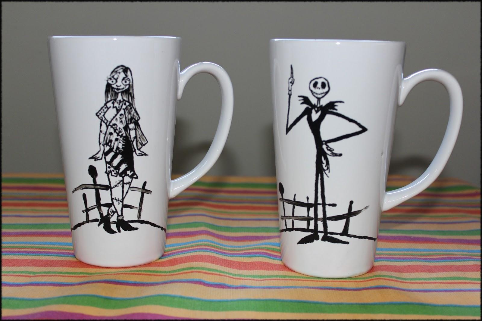 Fieltrum caf t y chocolate tazas pintadas a mano - Tazas decoradas a mano ...