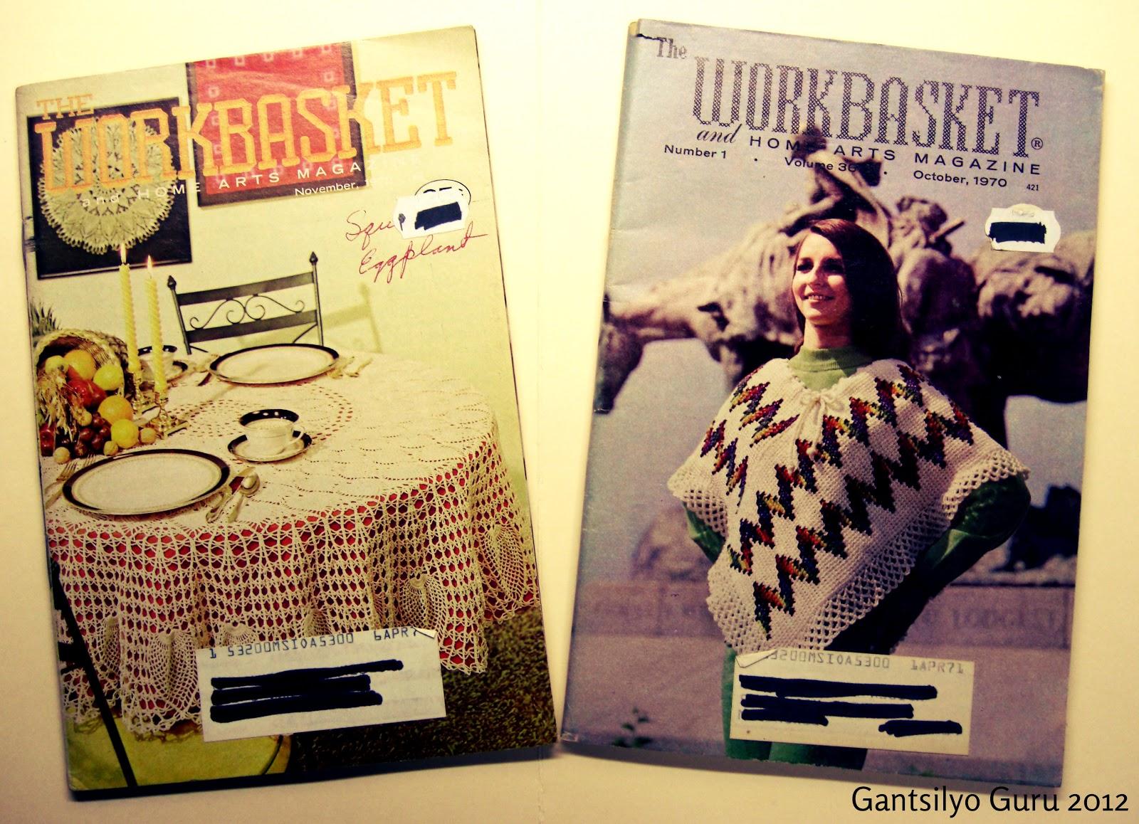 Famous Workbasket Magazin Häkelanleitungen Gift - Decke Stricken ...