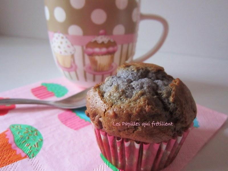 les papilles qui fr tillent muffin chocolat au lait framboises. Black Bedroom Furniture Sets. Home Design Ideas