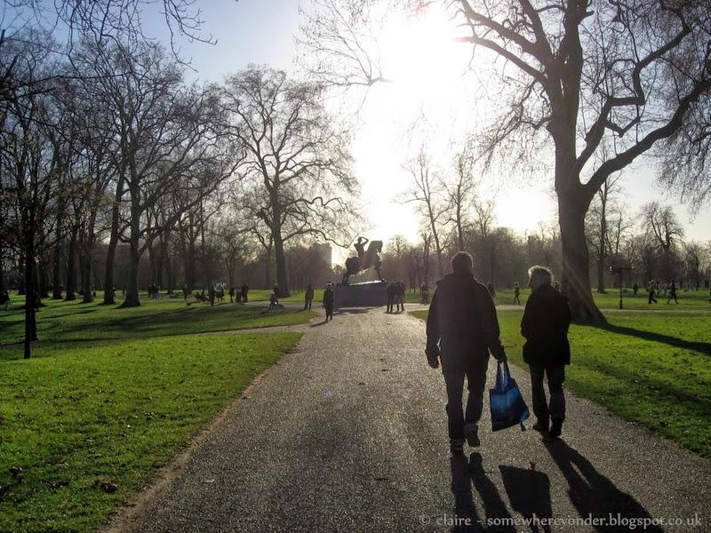Winter in Hyde Park 2014
