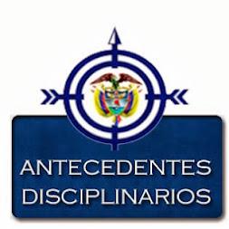 Consultar y Generar certificado de Antecedentes Disciplinarios