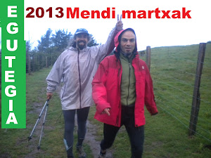 mendi martxen egutegia 2013  / zirkuitua