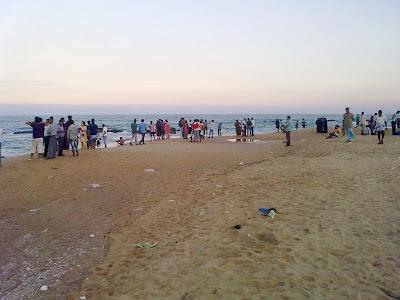 Kovalam Beach Chennai
