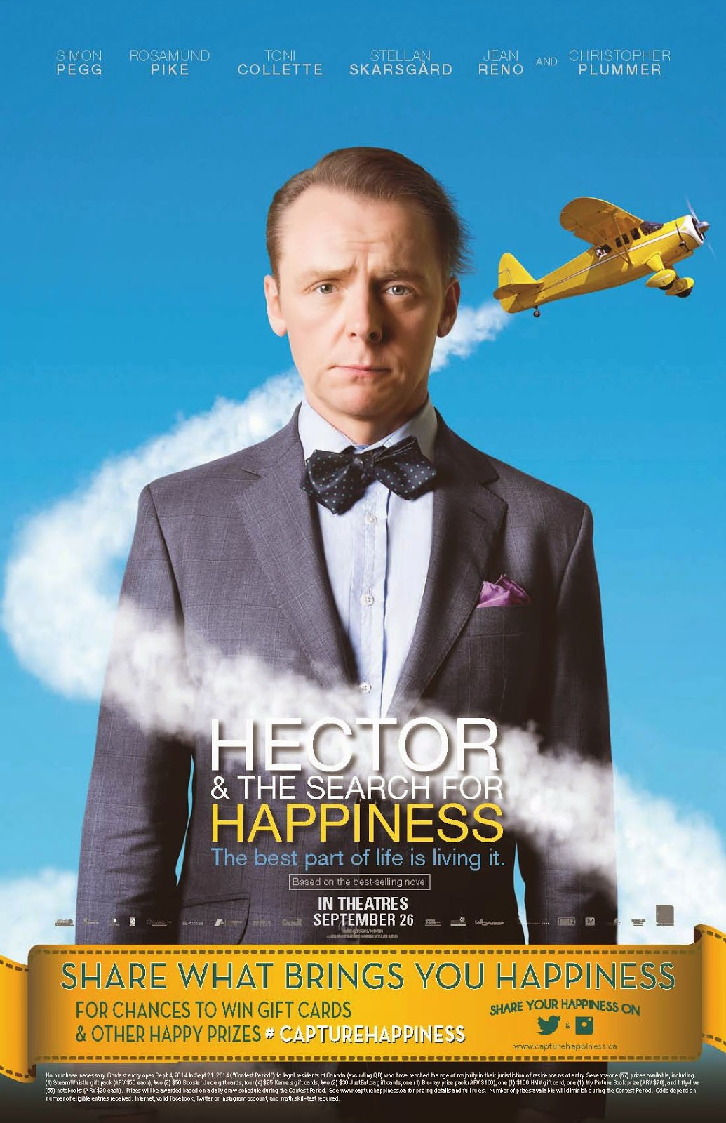 Win Tickets to 'Hector and the Search for Happiness!'