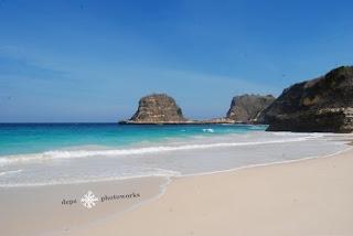 Tanjung Bloam beach