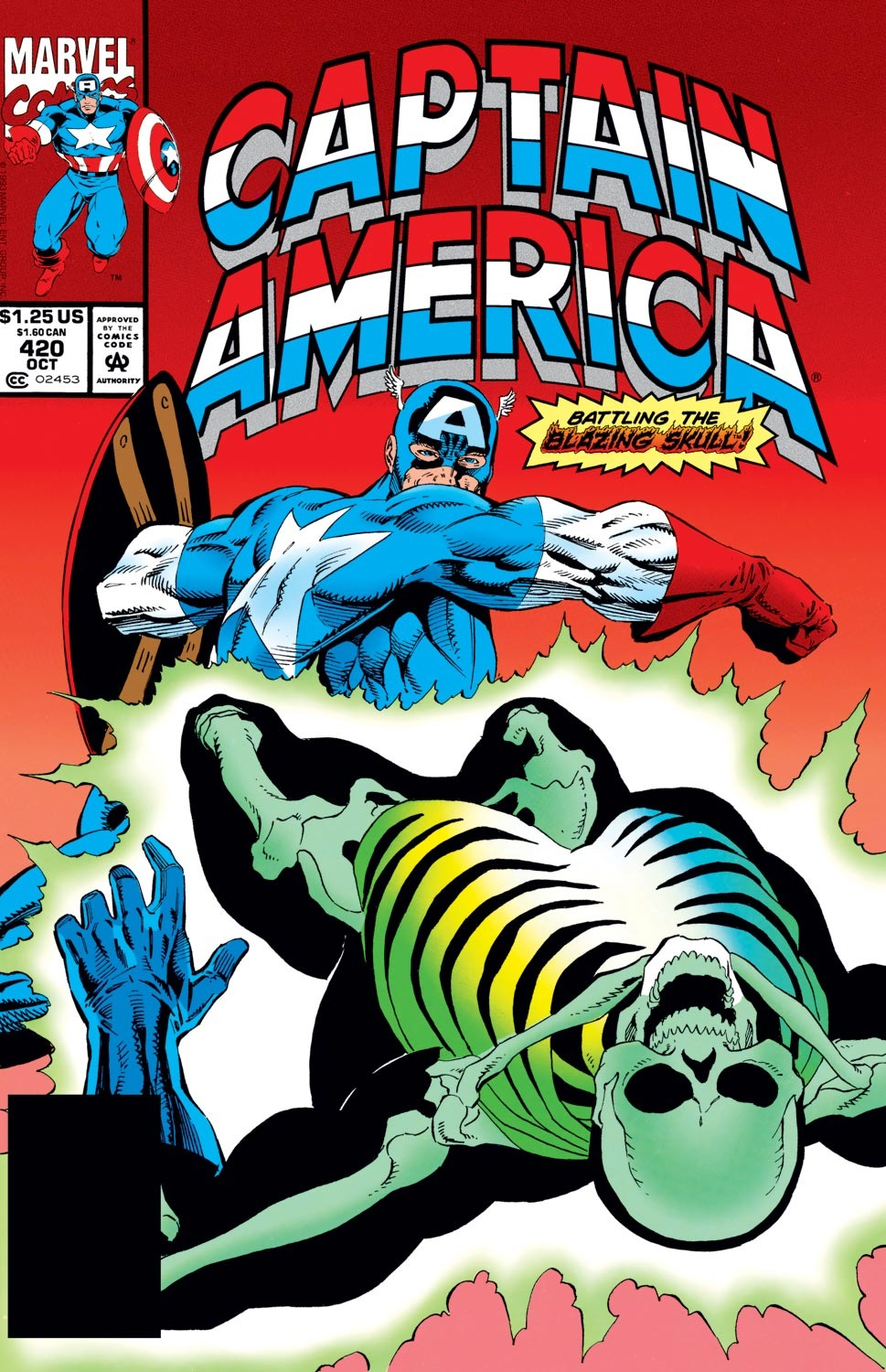 Captain America (1968) Issue #420 #369 - English 1