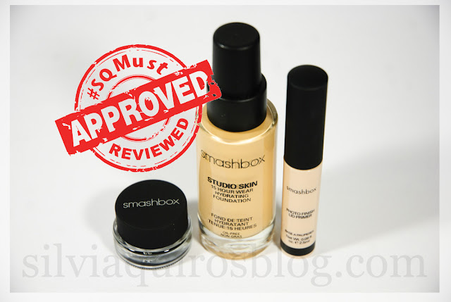 Probando maquillaje Smashbox makeup products Silvia Quiros SQ Beauty