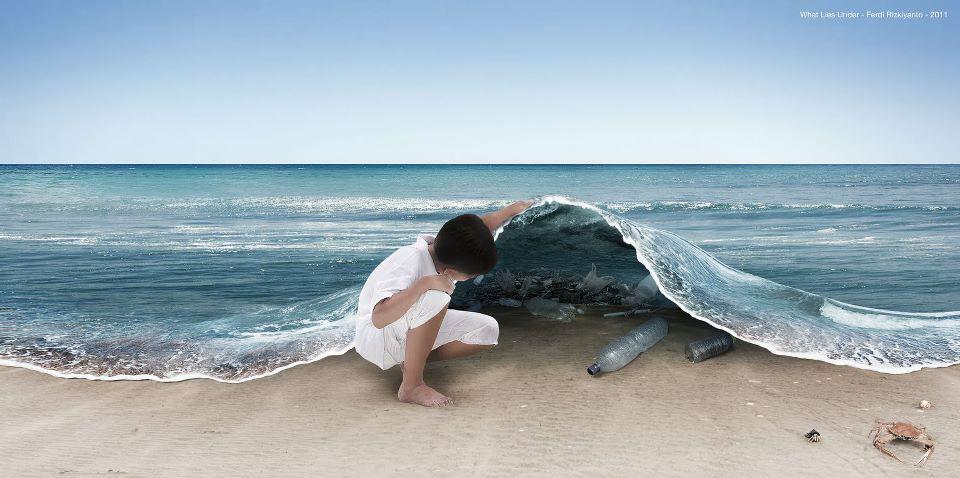 Resultado de imagen de isla de plasticos