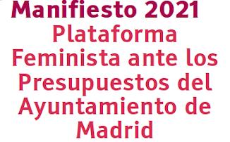 Manifiesto PFAPAM 2021