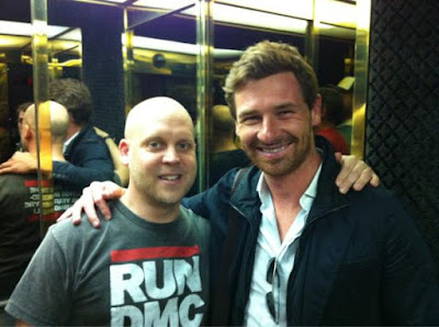 Jon Murphy with Andre Villas-Boas