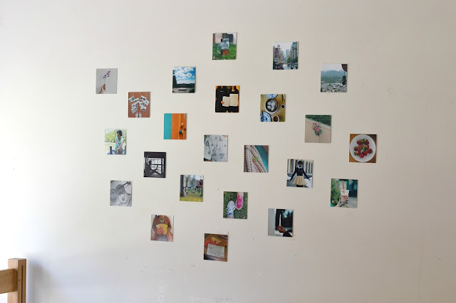 instagram prints, postalpix, dorm decorating ideas
