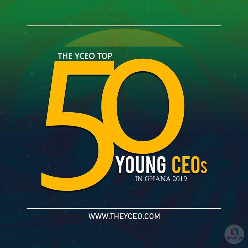 2019 Top 50 Young CEOs in Ghana Nominations