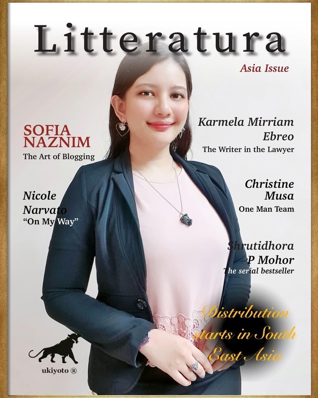 Featured In The Litteratura Asia Magazine