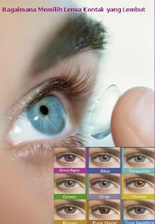 Bagaimana Memilih Lensa Kontak yang Lembut