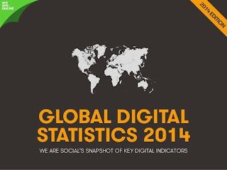 We Are Social - Global Digital Statistics 2014