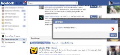 how to block facebook application/game request